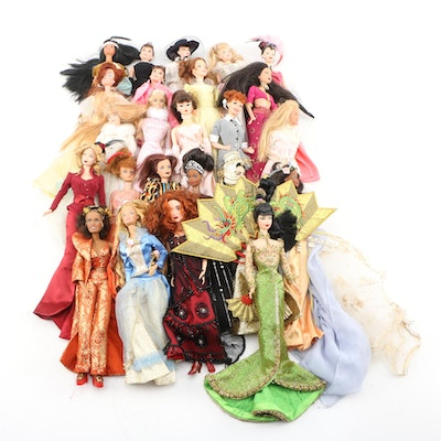 Mattel Barbie Dolls Including Character and Special Edition Dolls
