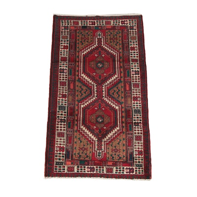 3'0 x 5'7 Hand-Knotted Persian Shiraz Wool Rug