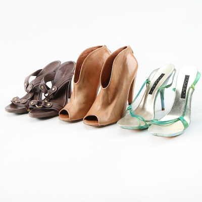 BCBG Max Azria, Vince Camuto and Laundry by Shelli Segal Sandals and Booties