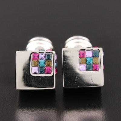 Duchamp Glass Cufflinks