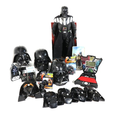 """Star Wars"" Darth Vader Themed Action Figures, Helmets, and Merchandise"