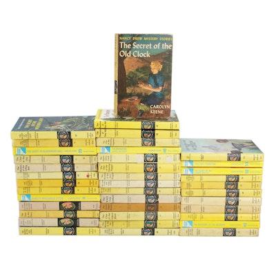 1946-2003 Nancy Drew Mystery Story Books by Carolyn Keene, Thirty-Nine Books
