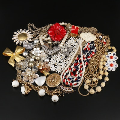 Assorted Jewelry Including Vintage Pieces