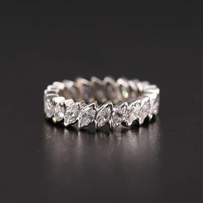 Platinum 2.31 CTW Diamond Eternity Band
