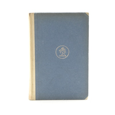 """1929 Signed Limited Edition """"The Way of Ecben"""" by James Branch Cabell"""