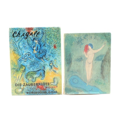 "Marc Chagall Illustrated ""Daphnis and Chloe"" and ""Chagall at the ""MET"""
