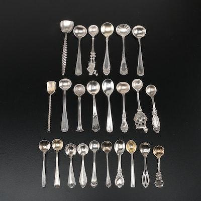 American Sterling Silver Salt Spoons