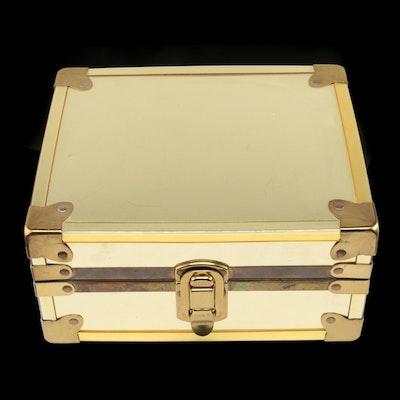 Trunk Style Jewelry Box