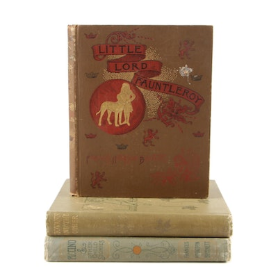 "Frances Hodgson Burnett Books featuring First Edition ""Giovanni and the Other"""