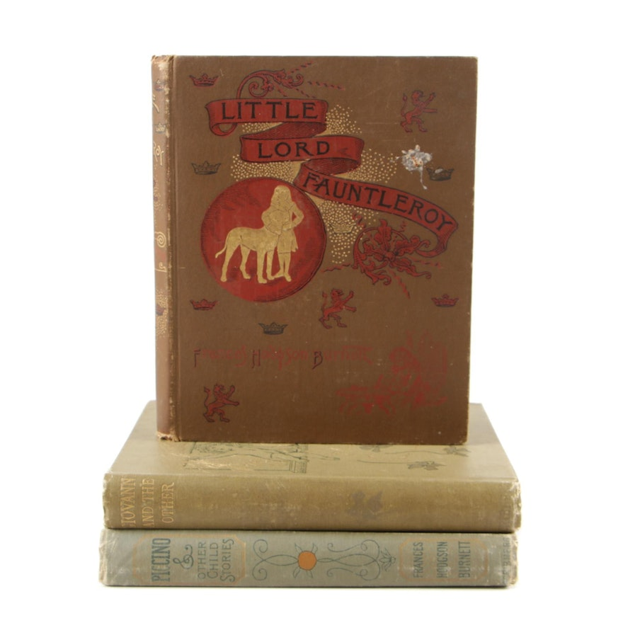 """Frances Hodgson Burnett Books featuring First Edition """"Giovanni and the Other"""""""