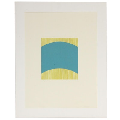 Abstract Lithograph, 1992