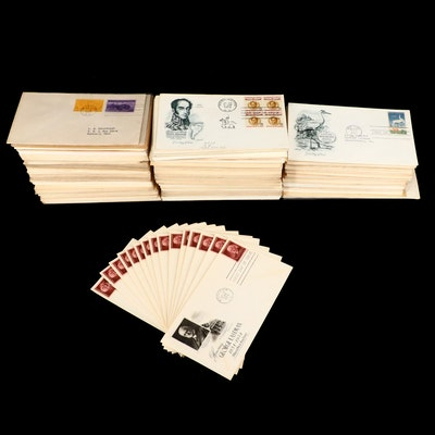 Over 450 U.S. First Day Covers with Cachets
