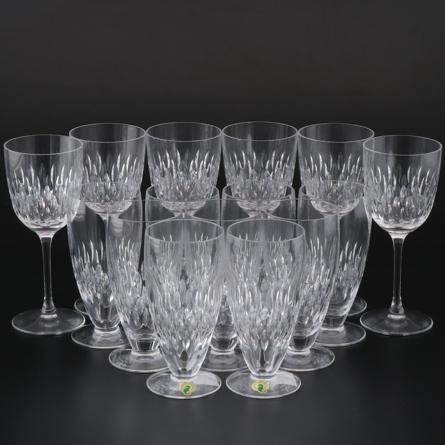Waterford Crystal Iced Tea and Wine Glasses