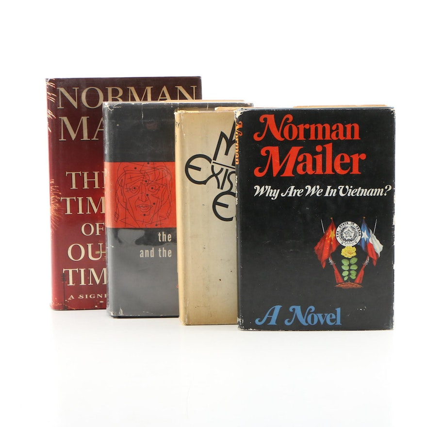 "Signed First Edition ""The Time of Our Time"" and Other Norman Mailer Books"