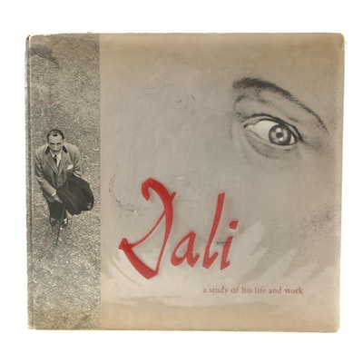 """First American Edition """"Dalí: A Study of His Life and Work"""", 1957"""