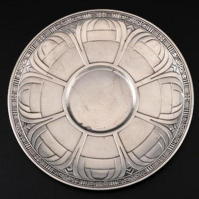 Alvin Art Deco Sterling Silver Plate