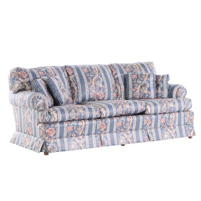 Clayton Marcus Chintz Sofa, Mid 20th Century