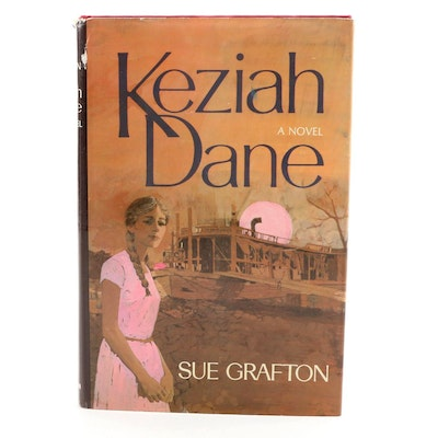 "First Edition, First Printing ""Keziah Dane"" by Sue Grafton, 1967"