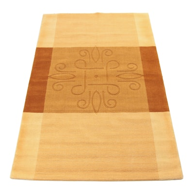 5' x 7'11 Hand-Tufted Indo Sculpted Rug, 2000s