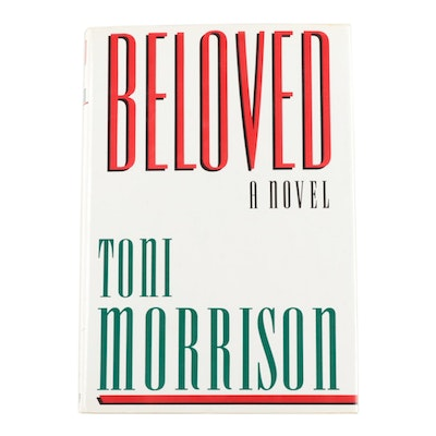 "Signed First Edition ""Beloved"" by Toni Morrison, 1987"