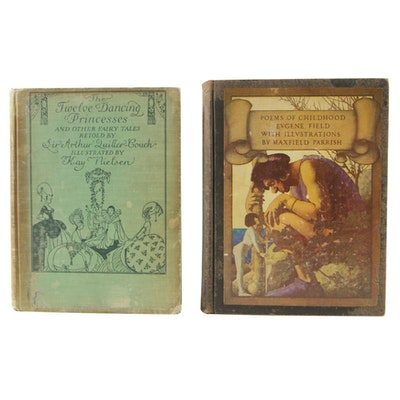 """The Twelve Dancing Princesses"" and ""Poems of Childhood"", Illustrated"