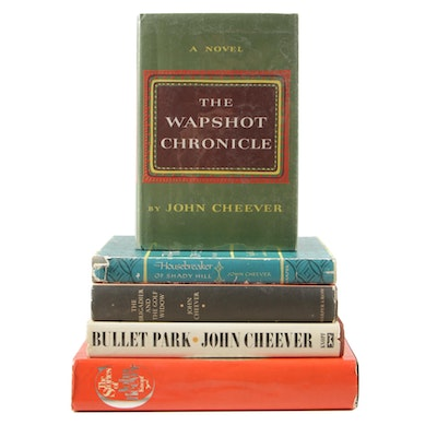 "Signed ""The Stories of John Cheever"" and Other First Edition Cheever Books"
