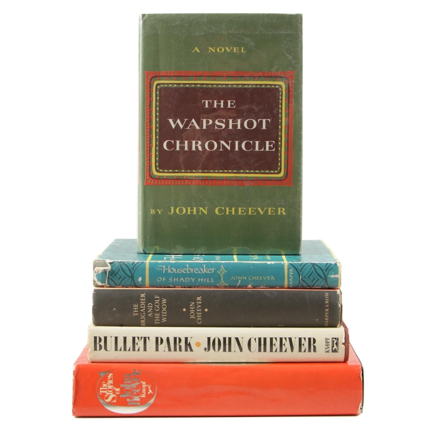 """Signed """"The Stories of John Cheever"""" and Other First Edition Cheever Books"""
