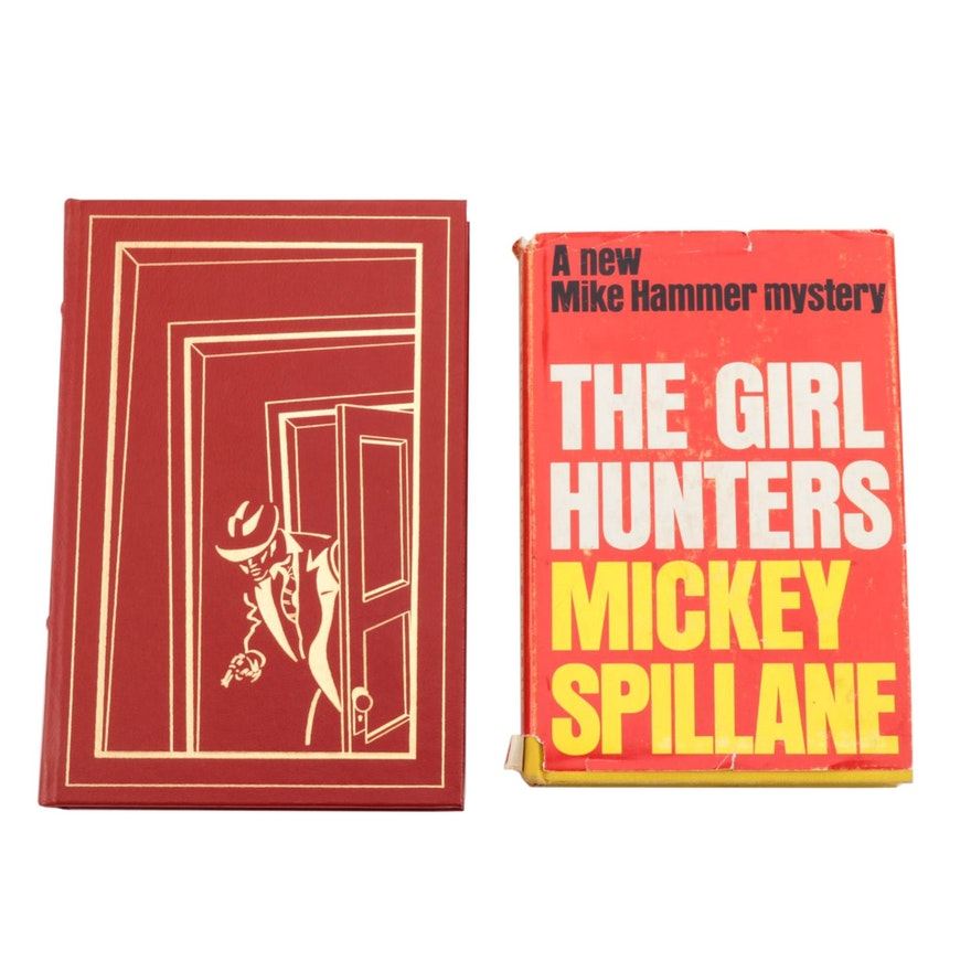"""Signed First Edition """"The Killing Man"""" and """"The Girl Hunters"""" by Mickey Spillane"""