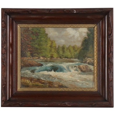 Richard Ruh Epperly Landscape Oil Painting