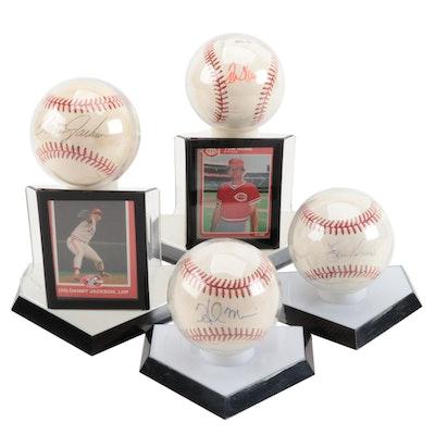 Davis, Jackson, Morris and Hume Signed Baseballs   COA