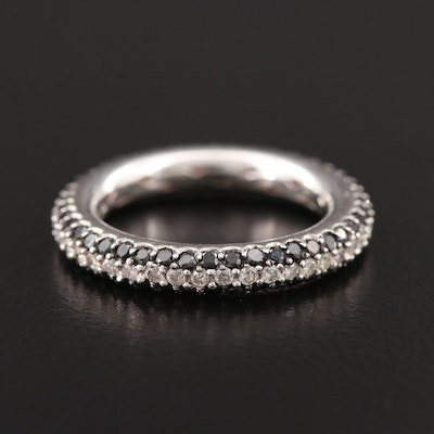 18K White Gold 1.72 CTW Diamond Eternity Band