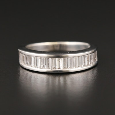 14K White Gold 2.01 CTW Diamond Channel Band
