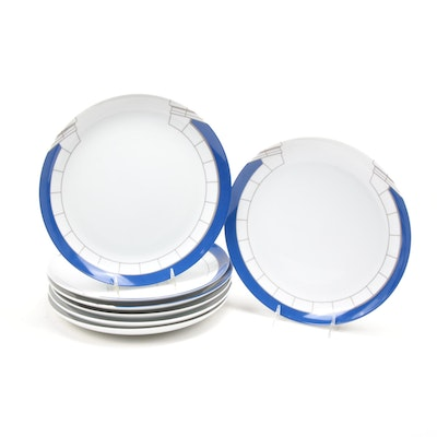Tiffany & Co. for  Sony Club Porcelain Dinner Plates