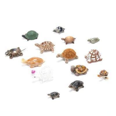 Wade, Künstlerschutz and Other Turtle Figurines