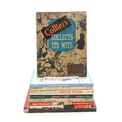 "1941 ""Collier's Collects Its Wits"" and Other Cartoon Books"