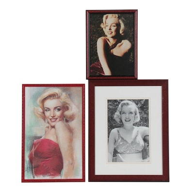 Marilyn Monroe Offset Lithographs and Digital Print Photograph