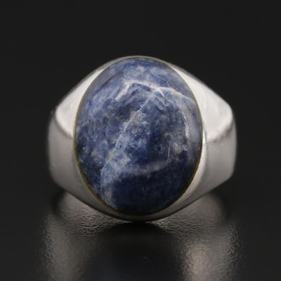Sterling Silver Sodalite Ring