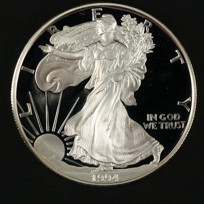 1994-P $1 U.S. Silver Eagle Proof Coin