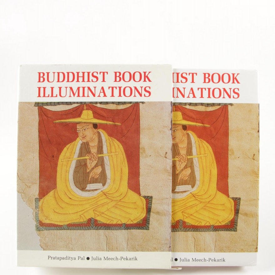 """Buddhist Book Illuminations"" by Pratapaditya Pal and Julia Meech-Pekarik, 1988"