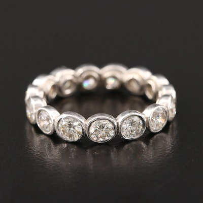 Platinum 3.45 CTW Diamond Eternity Band