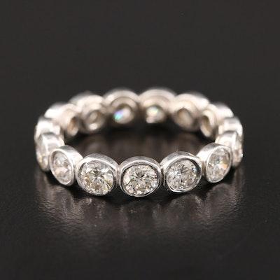 Platinum 3.45 CTW Diamond Eternity Band