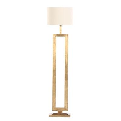 Visual Comfort Gild Metal Floor Lamp designed by Suzanne Kasler