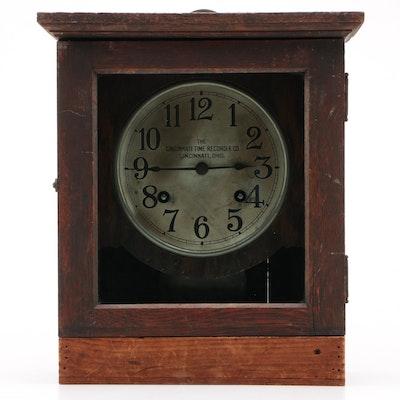 The Cincinnati Time Recorder Company Pendulum Clock