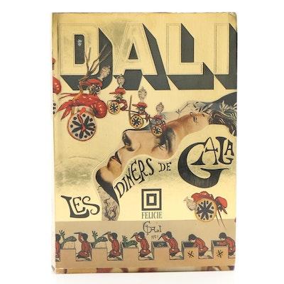 """1973 """"Les Dîners de Gala"""" by Salvador Dalí"""