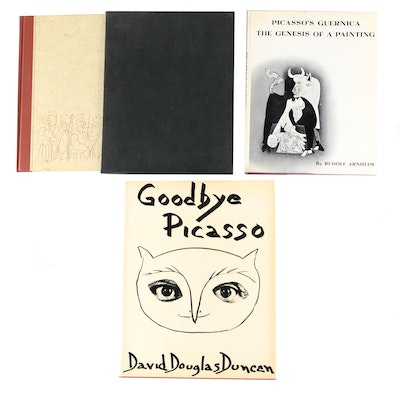 """Goodbye Picasso"" by David Douglas Duncan and Other Picasso-Illustrated Books"