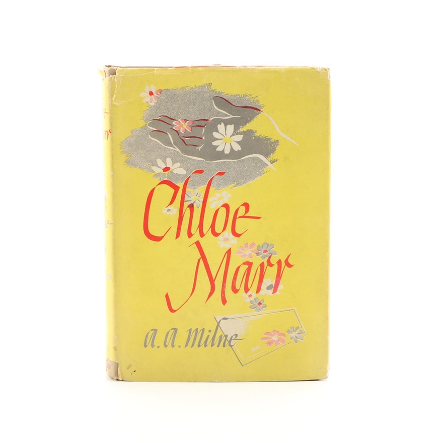 "First American Edition ""Chloe Marr"" by A. A. Milne, 1946"