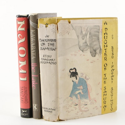 "Japanese Novels Featuring First American Edition ""Naomi"" by Junichirō Tanizaki"