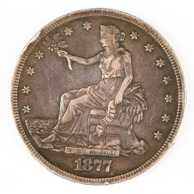 1877-S Silver Trade Dollar