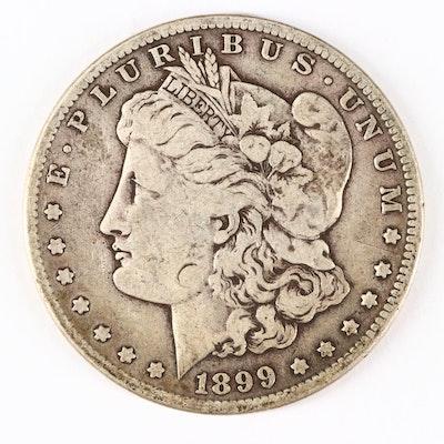 1899-S Silver Morgan Dollar