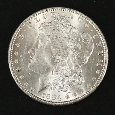 1884 Silver Morgan Dollar